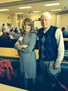 Mary Kaye Bredeson, executive director and Dr. Richard Strand present in Spokane about Common Course Numbering.