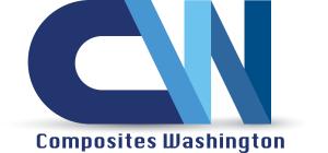 Logo developed by Switch Up Web & Marketing for Composites Washington