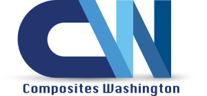 Logo developed by Switch Up Web & Marketing for Composites Washington