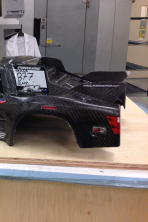 """Sample of composite """"car"""" product"""